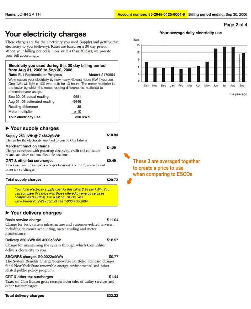 spark energy bill